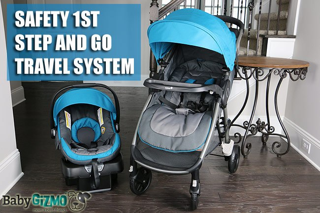 Safety 1st Step and Go Stroller Travel System Review (VIDEO)