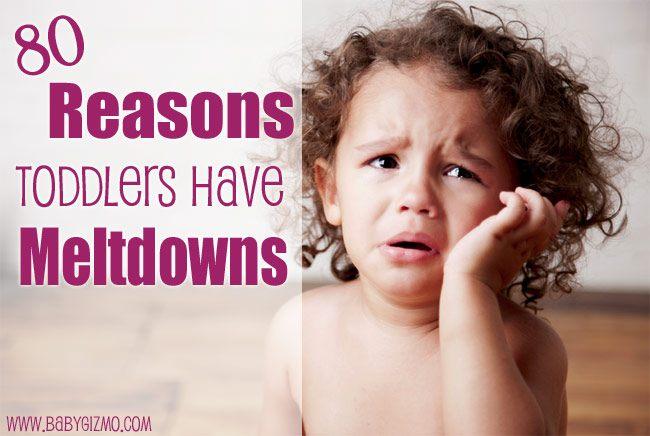 toddler meltdown