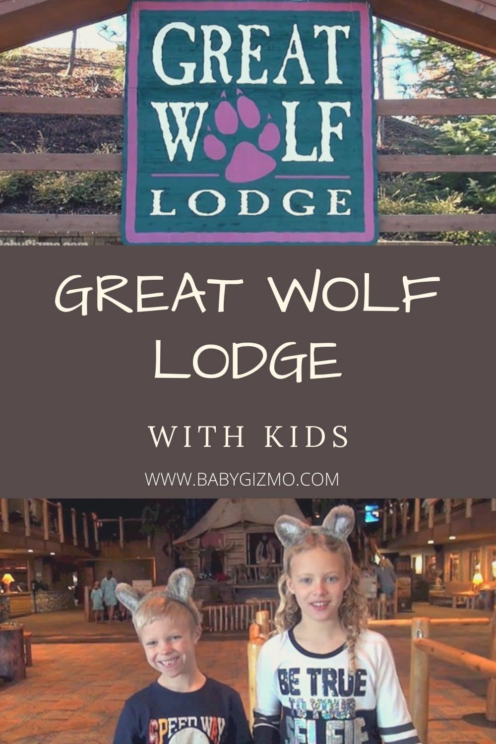 GREAT WOLF LODGE WITH KIDS