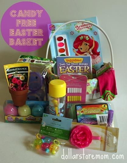 Easter Basket Ideas: Candy Free Easter Basket