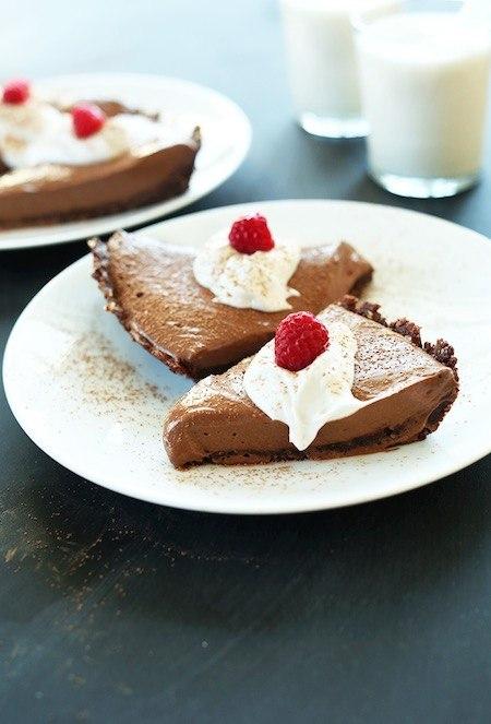chocolate vegan pie