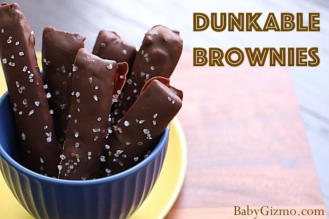 Dunkable Brownies