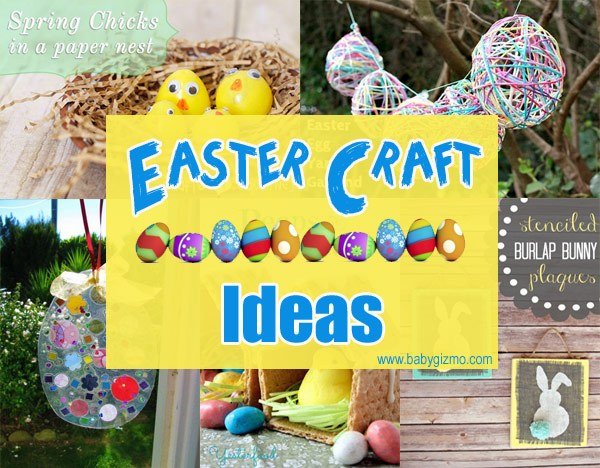 Seven Fun Easter Crafts for Kids