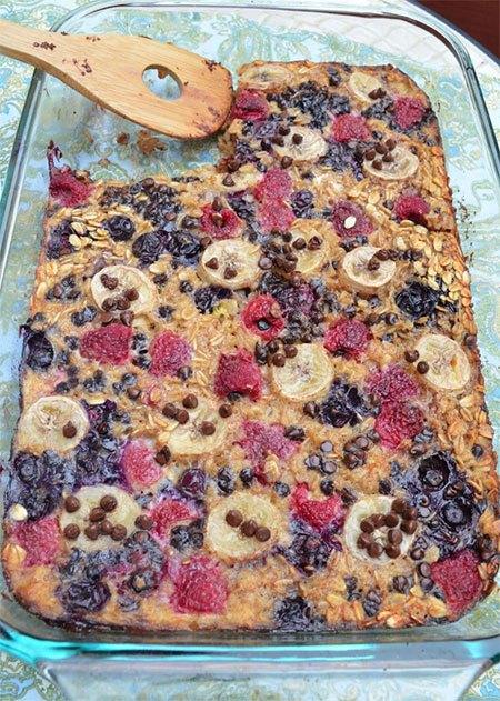 Recipe: Oatmeal Bake