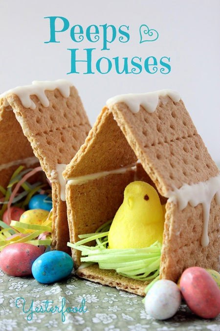 Peeps House Easter Craft