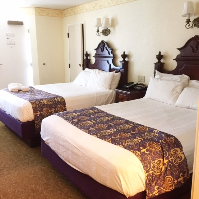 Port Orleans Double Bed