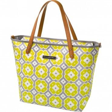 yellow diaper bag