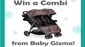 Review: Combi Fold and Go Double Stroller + Giveaway