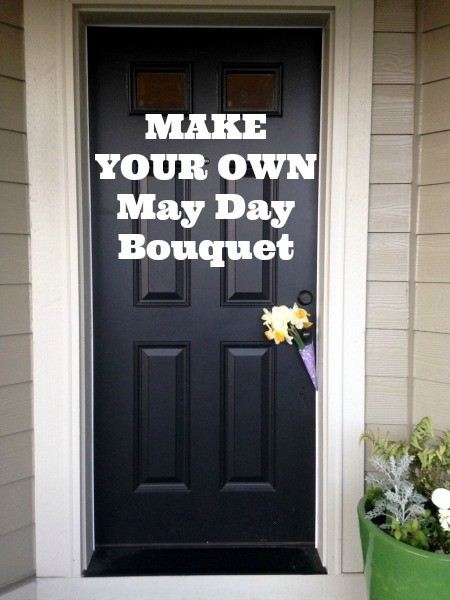 make your own may day bouquet
