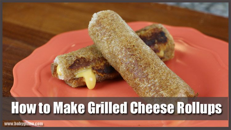Grilled Cheese Rollups Recipe (VIDEO)