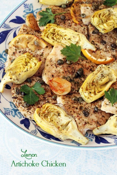 15 Easy Recipes - Lemon Chicken