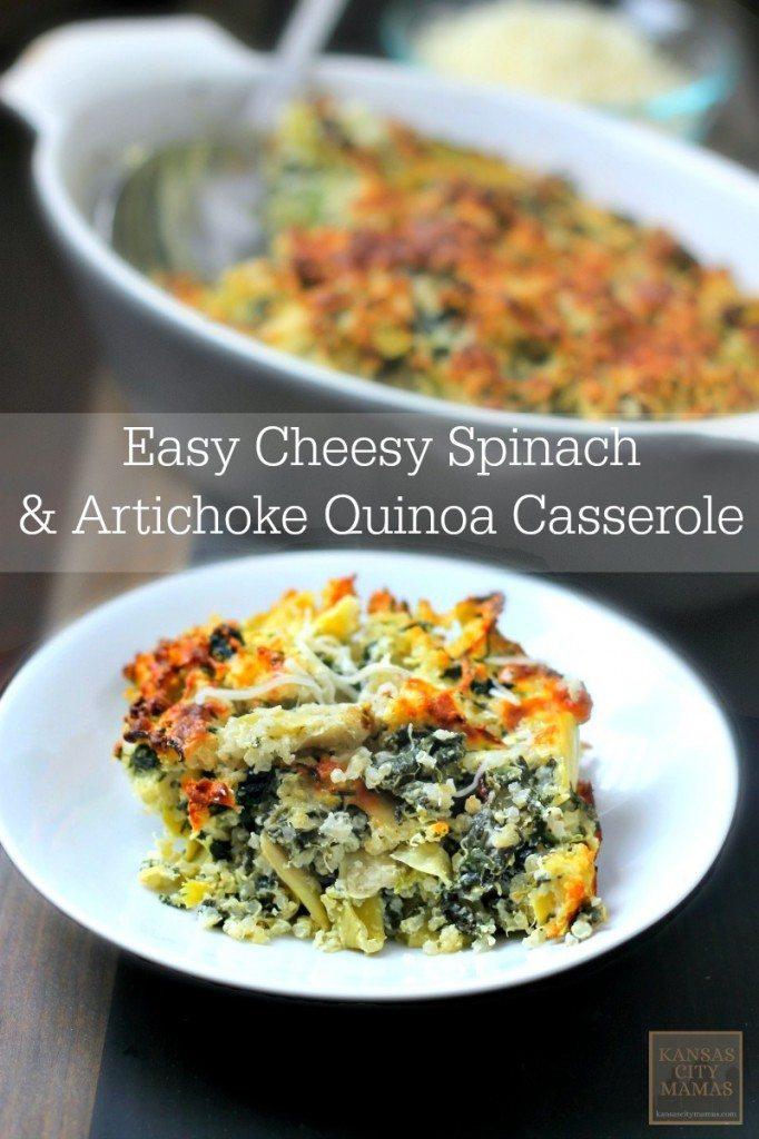 15 Easy Recipes - Cheesy Quinoa Casserole