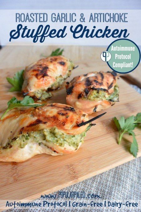 15 Easy Recipes - Stuffed Chicken