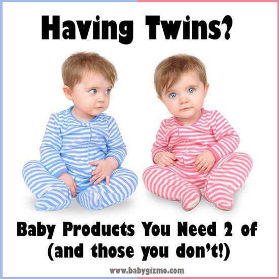 what you need for twins