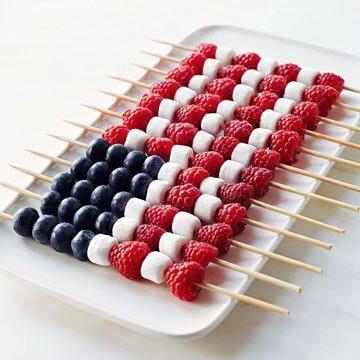 festive fruit flag