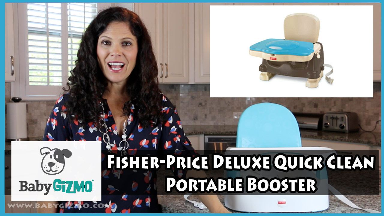 Fisher-Price Deluxe Quick Clean Portable Booster Review