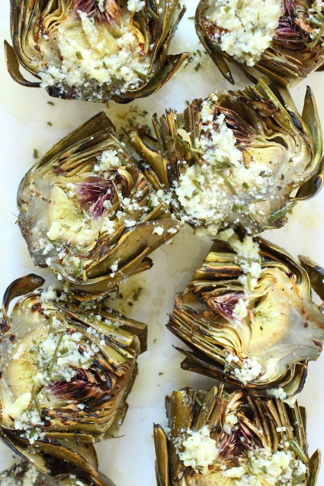 15 Easy Recipes - Grilled with Garlic & Parmesan