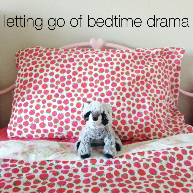Letting Go Of Bedtime Drama