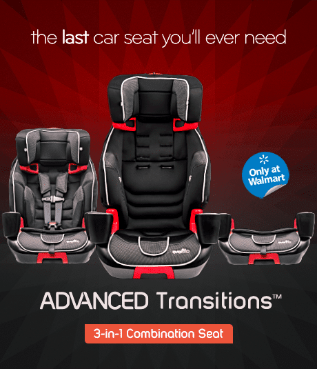 Featured Review: Evenflo Advanced Transitions 3-in-1 Booster Seat