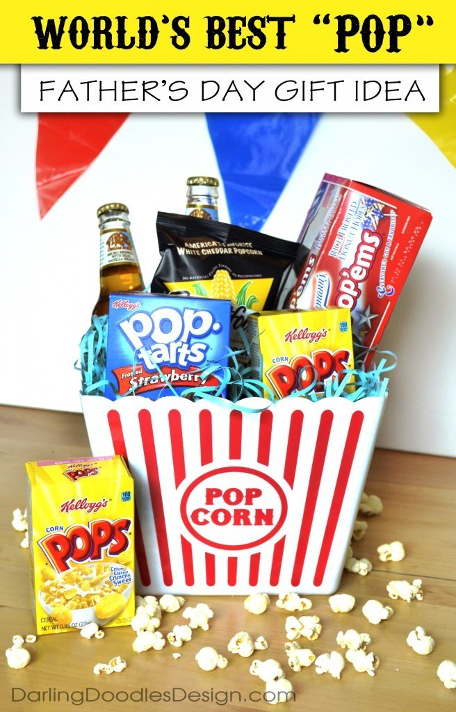 popcorn gift for dad
