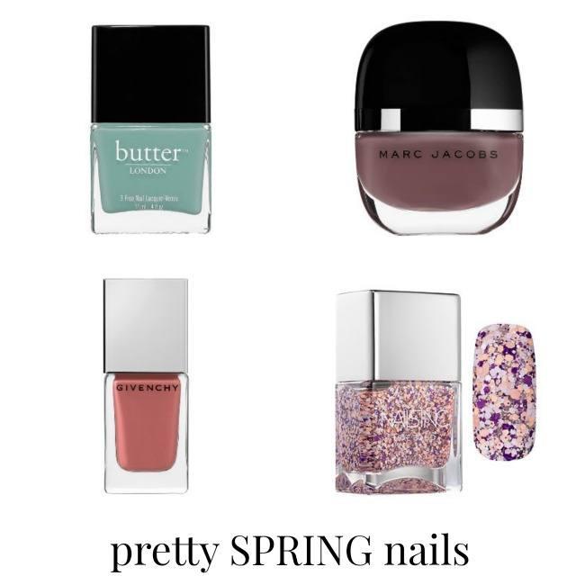 pretty spring nails
