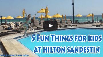 5 Fun Things for Kids at Hilton Sandestin Beach Resort