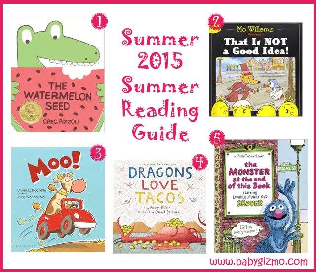 Summer Toddler Reading Guide