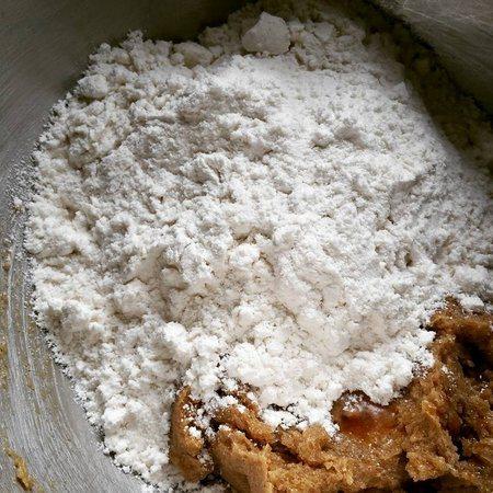 Gluten Free Cookie Dough Truffles add flour
