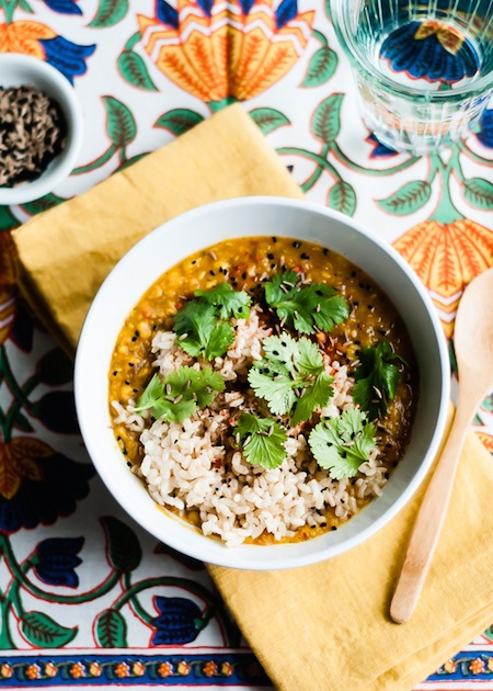 dal-with-brown-rice