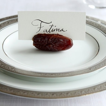 Date Place Card