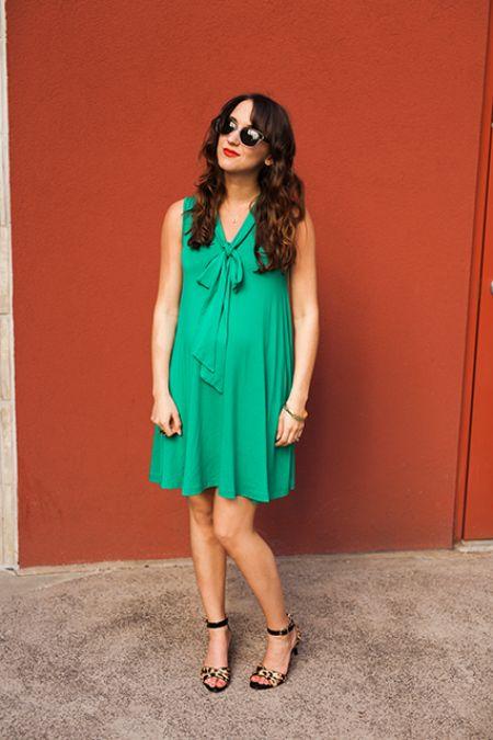 green-spring-dress