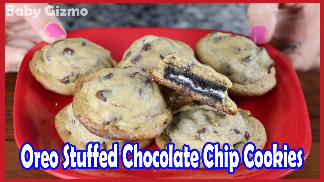 Easy Oreo Stuffed Chocolate Chip Cookie Recipe