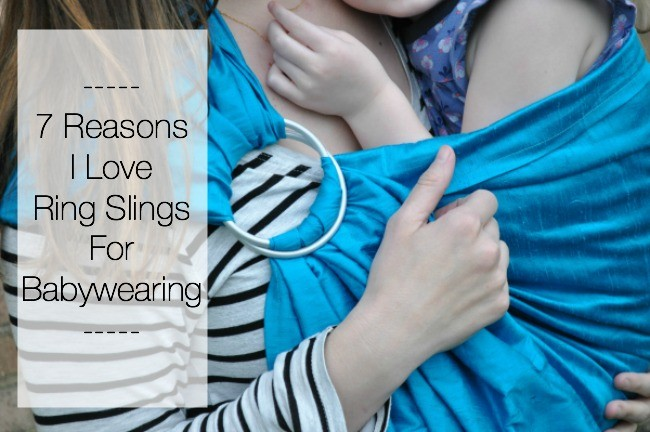 reasons i love ring slings