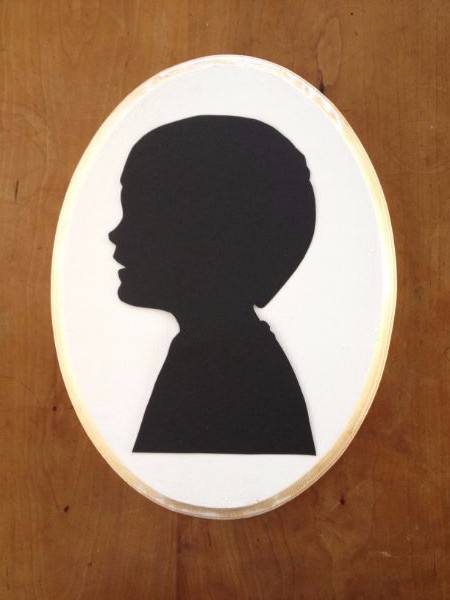Easy Silhouette Wall Art