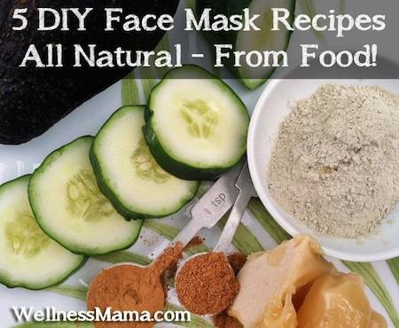Five-DIY-Face-Mask-Recipes-from-food