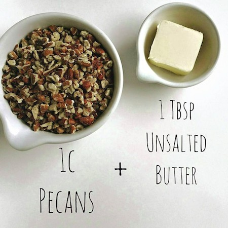 pecans and butter