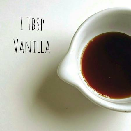 bowl of vanilla