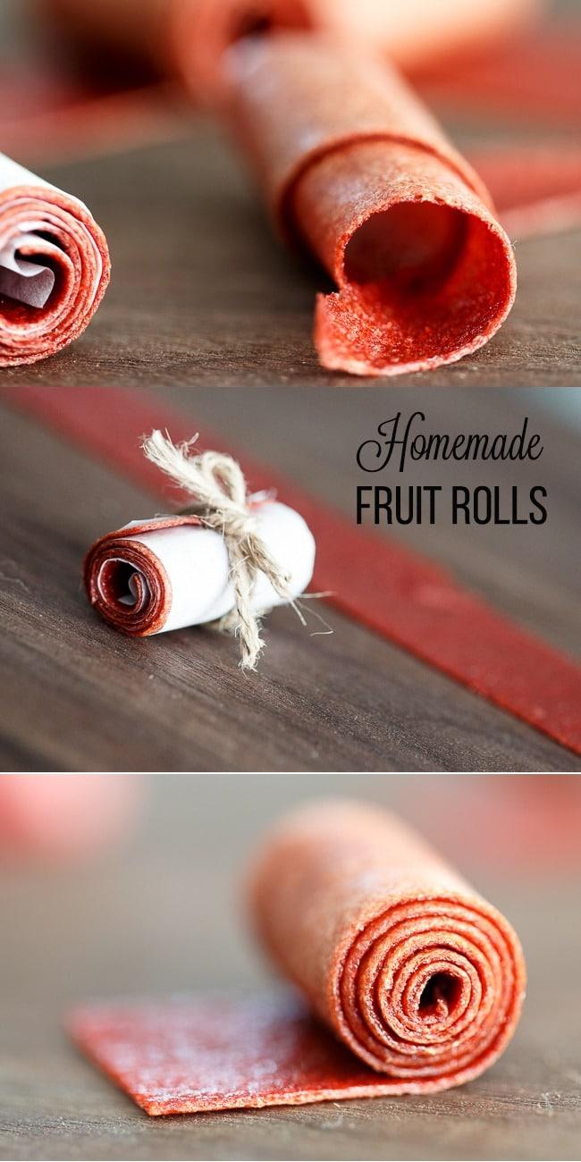 Strawberry Fruit Rolls