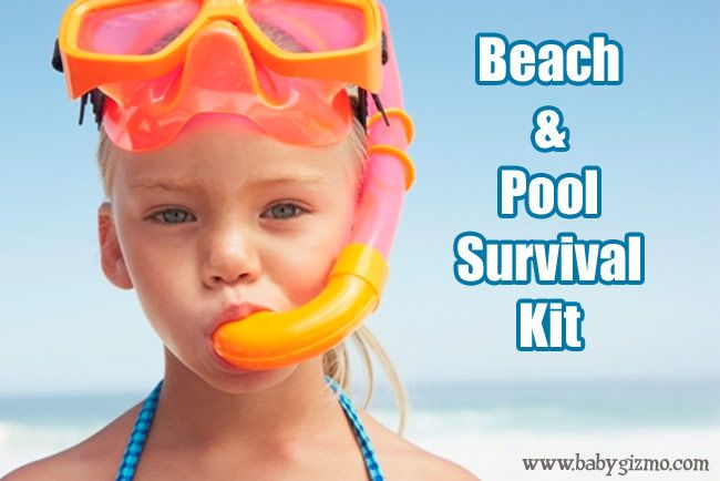 Beach and Pool Survival Kit!