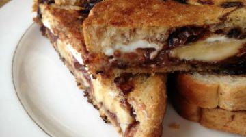 Dessert Grilled Cheese Recipe