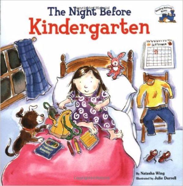 prepare for kindergarten