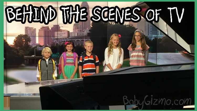 Taking FIVE Kids on TV – Behind the Scenes!