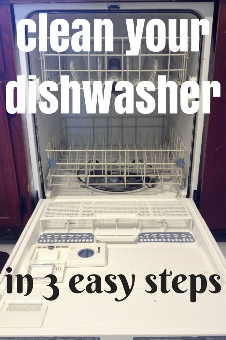 Clean Your Dishwasher in 3 Easy Steps!