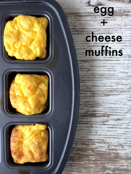 Egg + Cheese Muffins Recipe