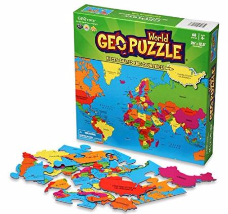 World Map Geopuzzles