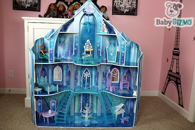 Disney Frozen Snowflake Mansion Ice Castle Doll House
