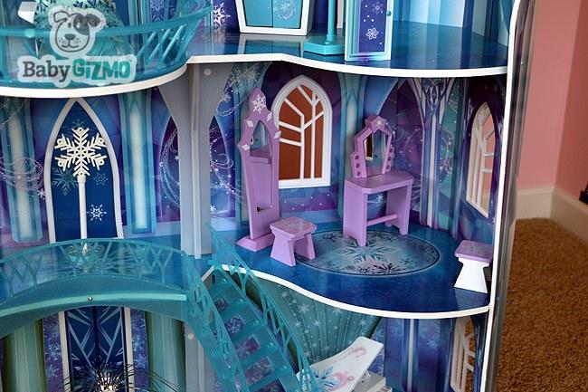 Furniture in the Disney Frozen Snowflake Mansion