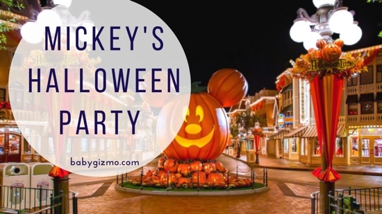 Disneyland: Mickey's Halloween Party!