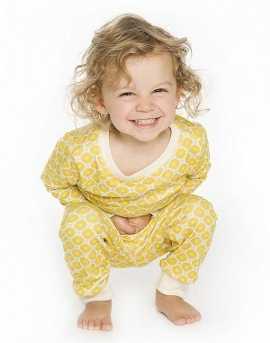 Mom Hack! Keeping Your Toddler's Pajamas ON!