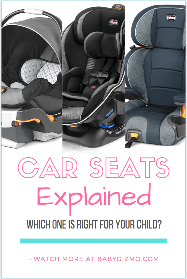 car seats explained